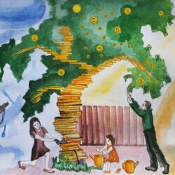 Конфликт матери и дочери по финансам